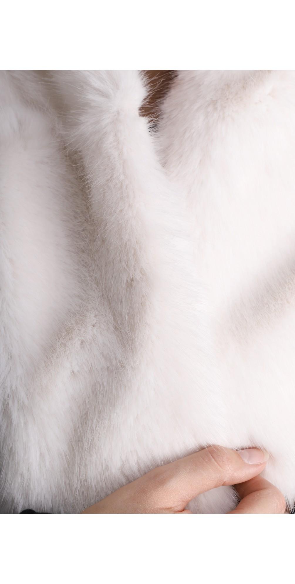 Loop Faux Fur Scarf main image