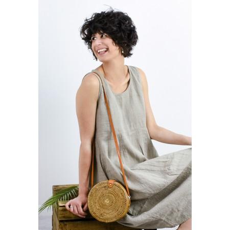 Thing Linen Sleeveless Dress - Beige