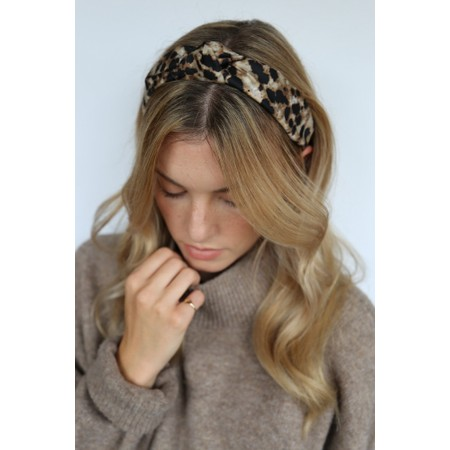 Tutti&Co Jasper Headband - Brown