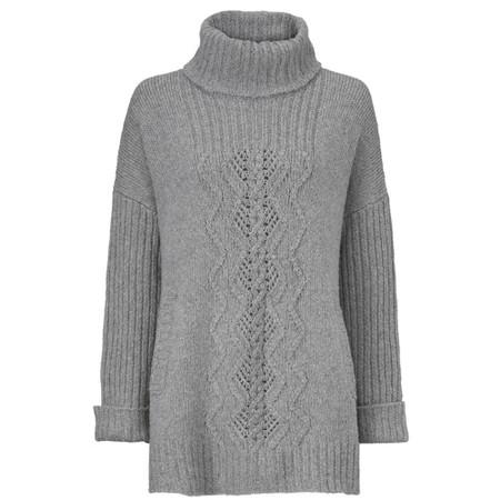 Masai Clothing Feodora Knit Top - Grey