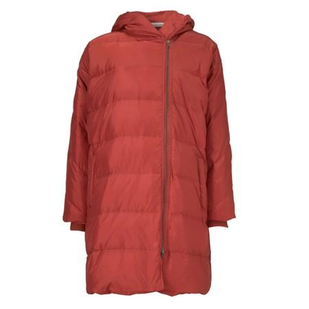 Masai Clothing Tuala Puffa Coat - Red
