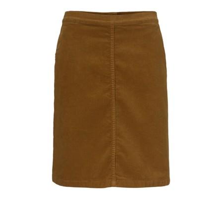 Masai Clothing Soleil Cord Skirt - Brown