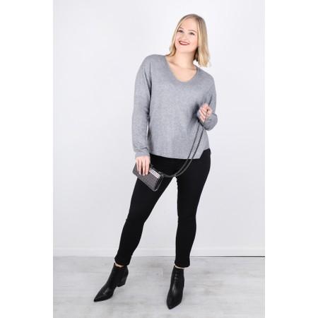 Fenella  Lilli Supersoft Metallic Easyfit Knit Jumper - Metallic