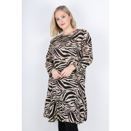 Masai Clothing Nukini Animal Print Dress - Pink