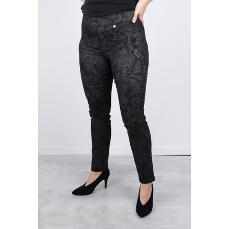 Robell  Rose Paisley Party Trouser - Blue