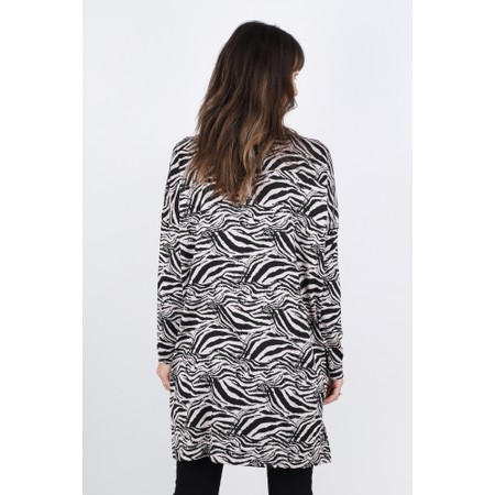 Masai Clothing Grizelli  Zebra Tunic - Pink