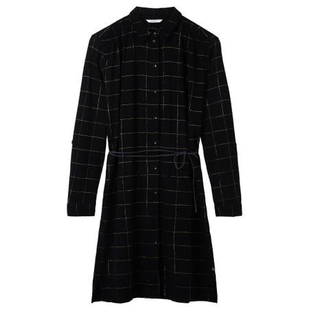 Sandwich Outlet  Check Print Dress - Black