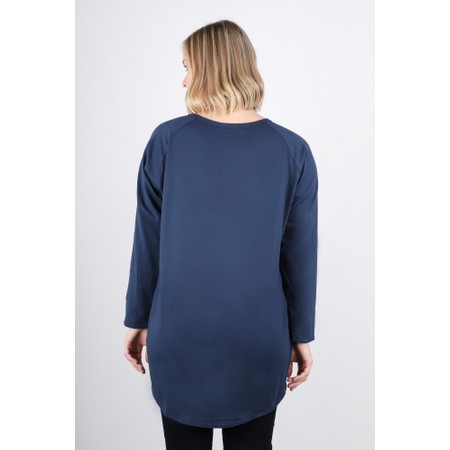 Chalk  Robyn Etoile Top - Blue