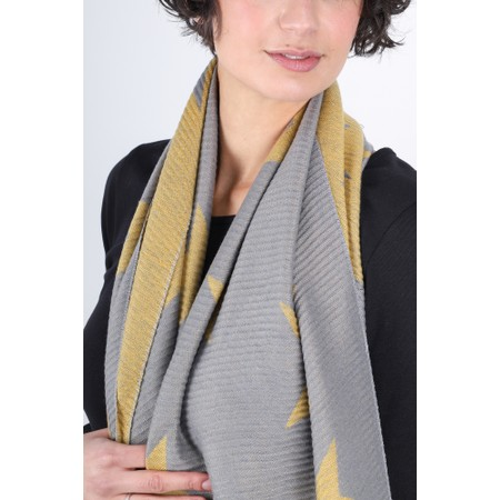 Gemini Label  Revo Stars Scarf - Yellow