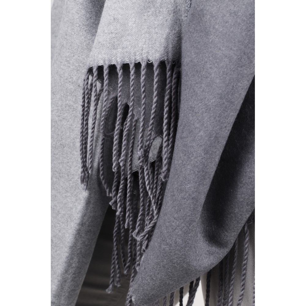Gemini Label Accessories Revo Plain Scarf Grey