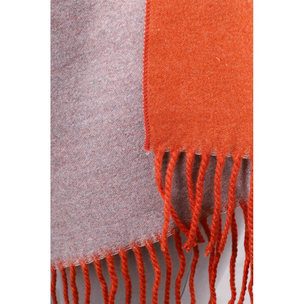 Gemini Label Accessories Revo Plain Scarf Orange