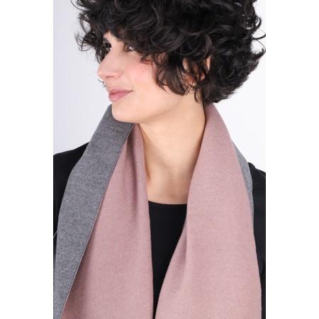 Gemini Label  Riko Reversible Plain Scarf - Pink
