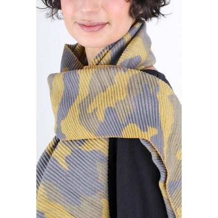 Gemini Label  Yuka Camouflage Scarf - Yellow