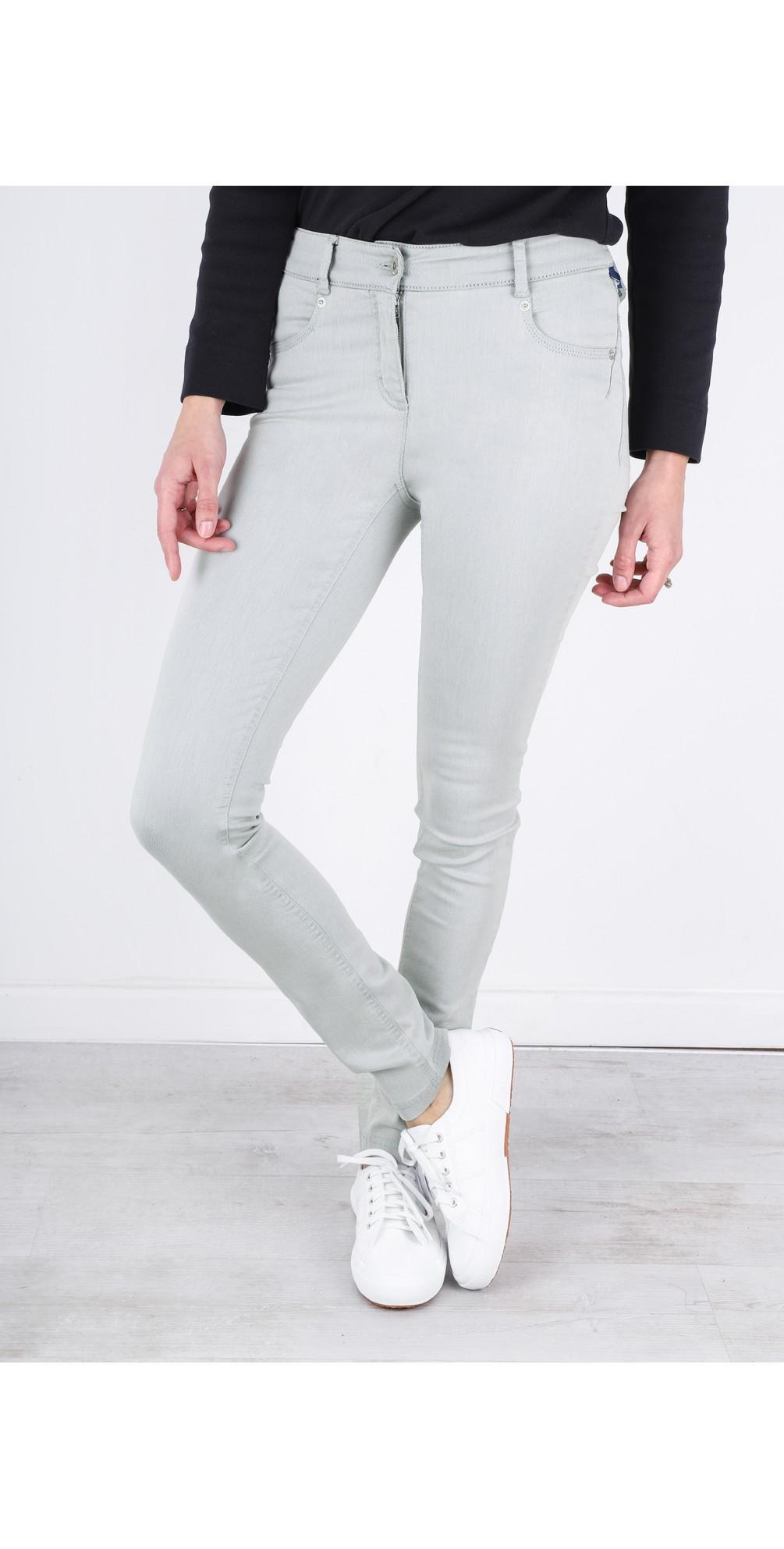 Star Power Stretch Grey Skinny Jean main image