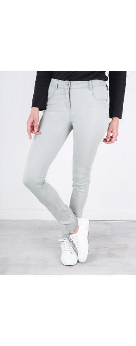 Robell Star Power Stretch Grey Skinny Jean Grey