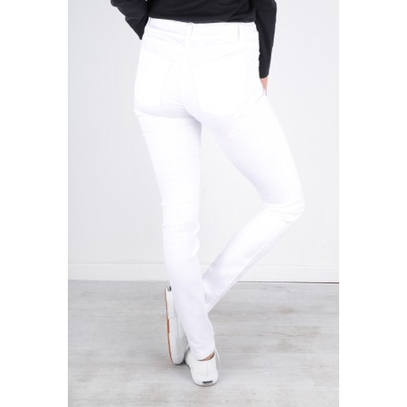 Robell  Star Power Stretch Skinny Jean - White