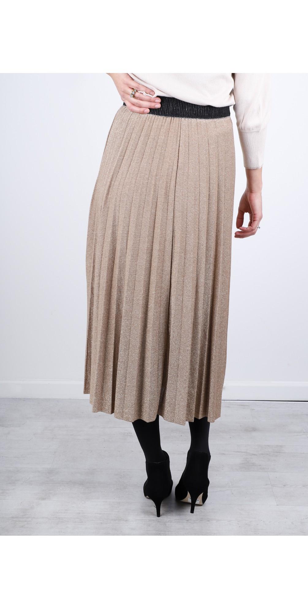 Sparkle Pleated Skirt main image