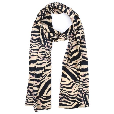 Masai Clothing Along Scarf - Pink