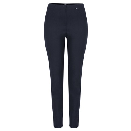 Robell  Bella 78cm Slim Fit Full Length Trouser - Blue