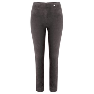 Robell  Rose Stretch Faux Suede Trouser
