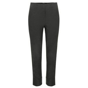 Robell  Bella 09 Anthracite Ankle Length 7/8 Cuff Trouser