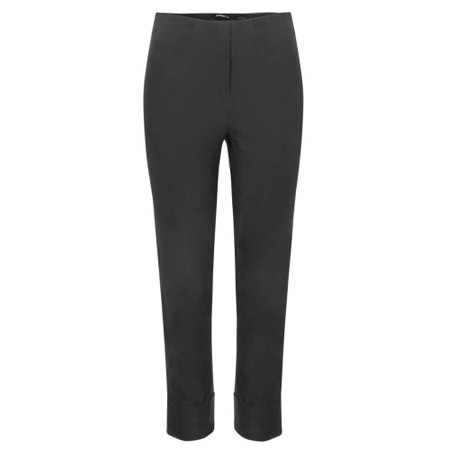 Robell  Bella 09 Anthracite Ankle Length 7/8 Cuff Trouser - Grey