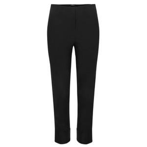 Robell  Bella 09 Black Ankle Length 7/8 Cuff Trouser