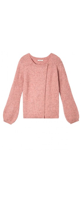 Sandwich Outlet  Bell Sleeve Cardigan Blush