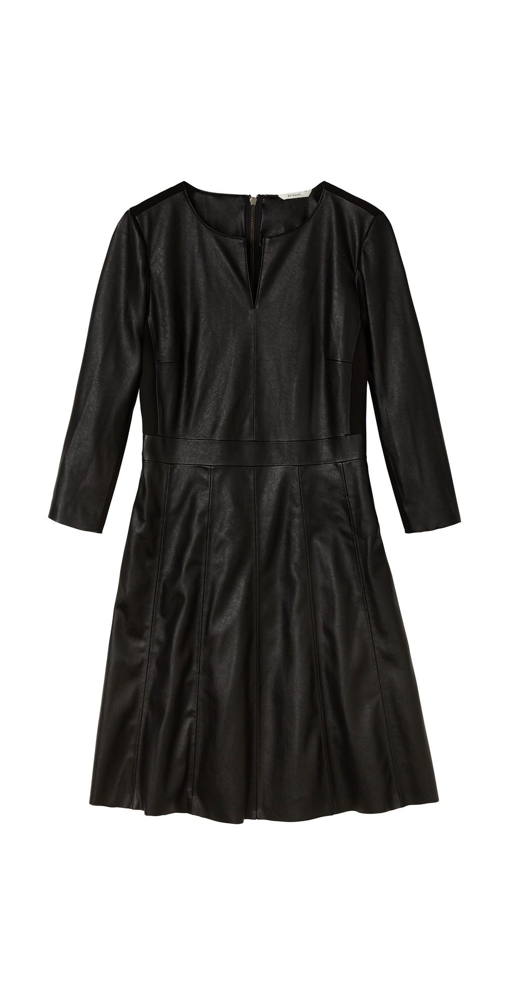 Faux Leather Dress main image