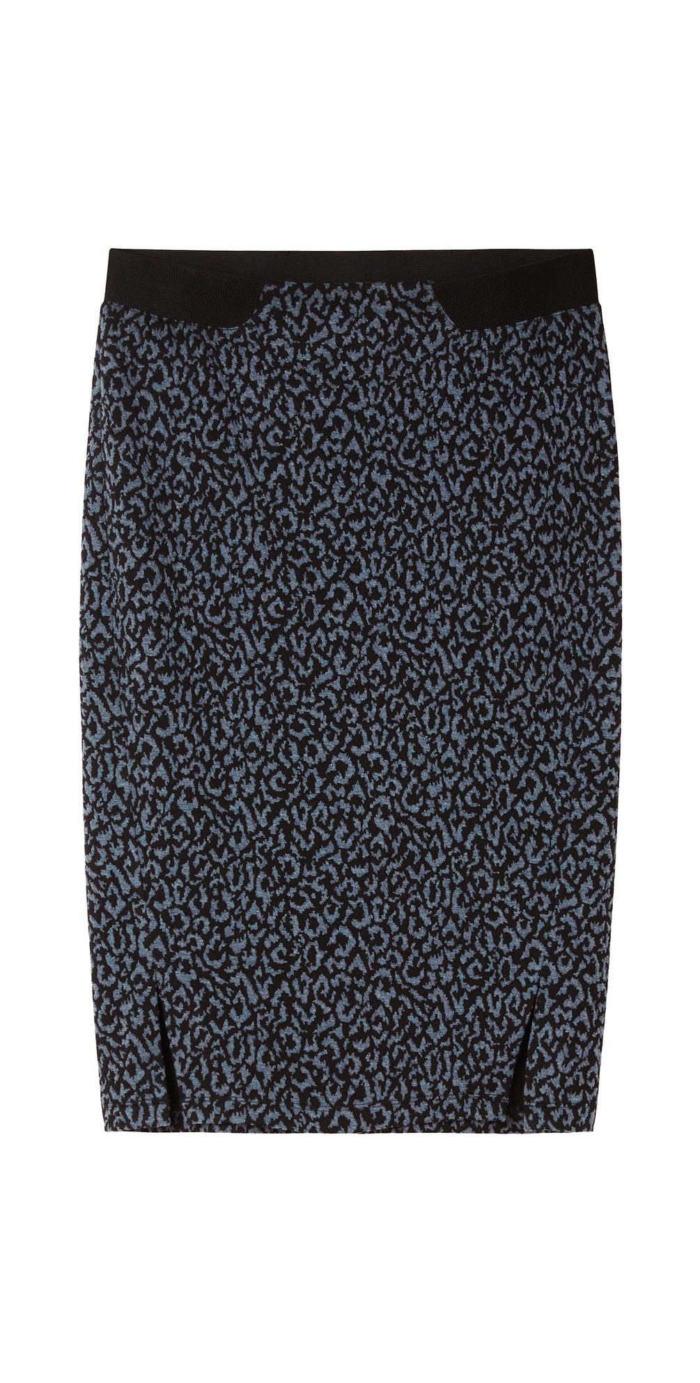 Leopard Jacquard Skirt main image