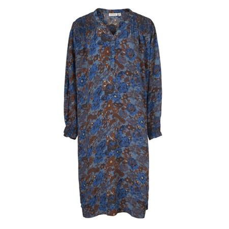 Masai Clothing Nevini Floral Dress - Blue