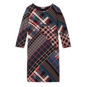 Sandwich Clothing Bold Multi Check Print Dress