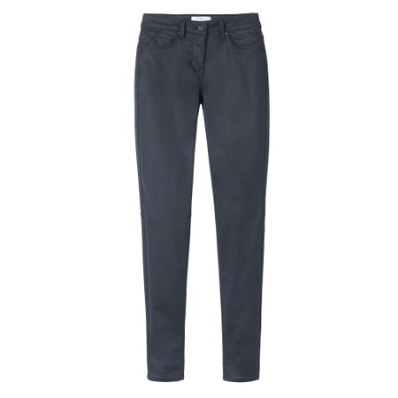 Sandwich Clothing Leather Look Trousers - Blue