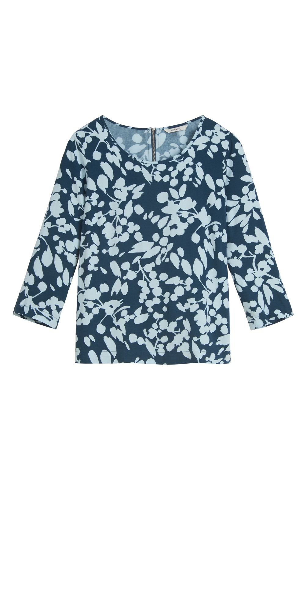 Bold Floral Top main image