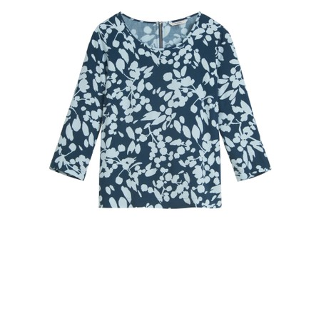 Sandwich Clothing Bold Floral Top - Green