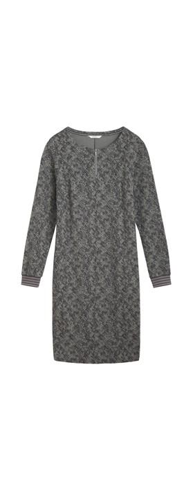 Sandwich Clothing Jersey Snakeskin Dress Thyme