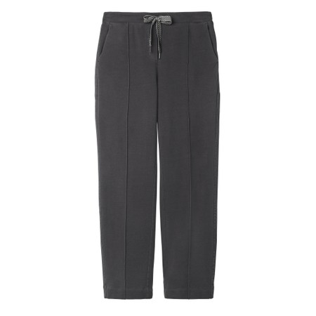 Sandwich Clothing High Waisted Jersey Trousers - Grey