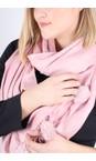Gemini Label Accessories Blush Pink Penny Pom Shawl Scarf