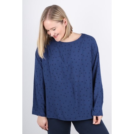 Mama B Ola Long Sleeve Top - Blue