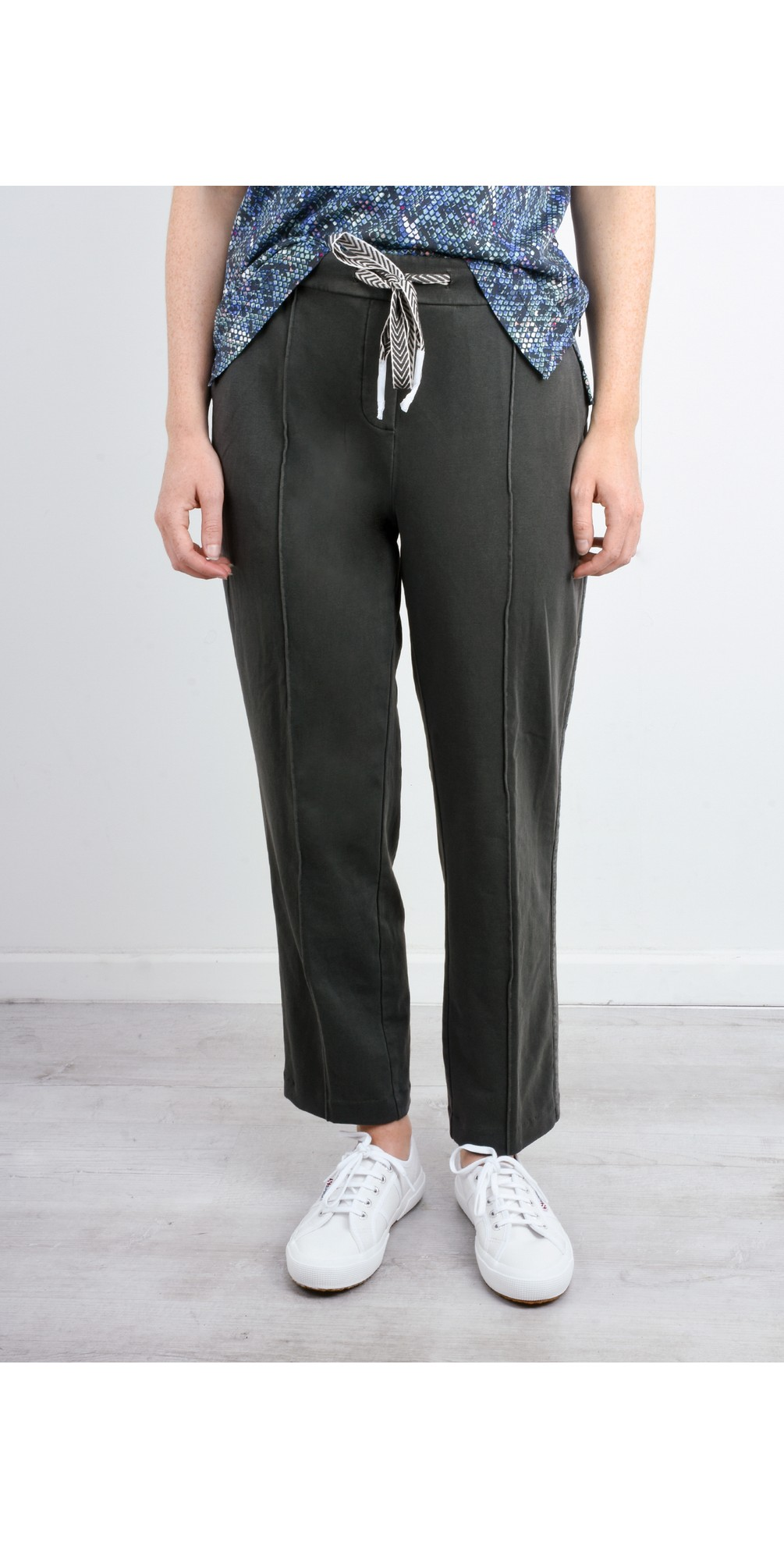 High Waisted Jersey Trousers main image