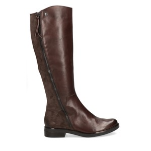 Caprice Footwear Gisela Leather Boot With Side Zip