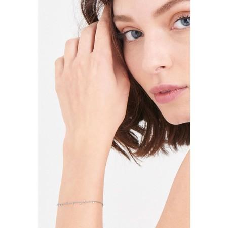 Ania Haie Geometry Mixed Discs Bracelet - Metallic