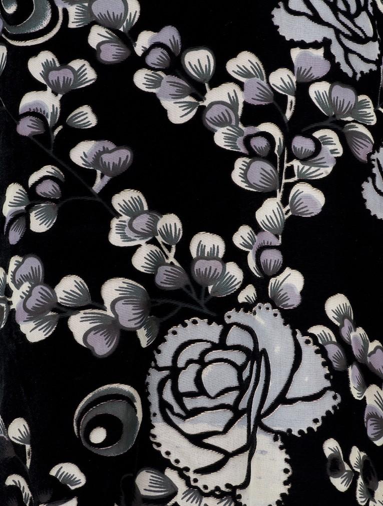 Bahita Velvet Floral Top main image