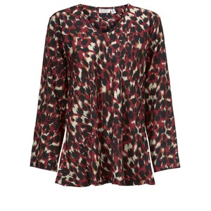 Masai Clothing Kala Abstract Animal Print Top