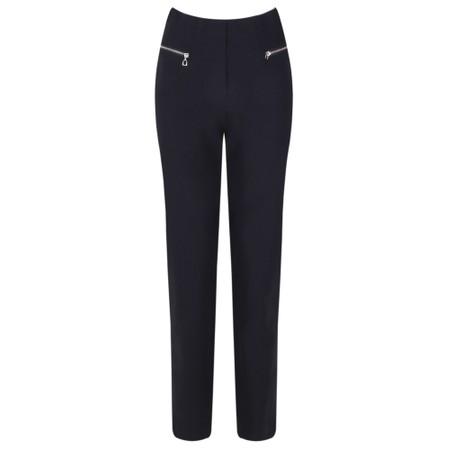 Robell  Mimi 75cm Zip Pocket Trouser - Blue