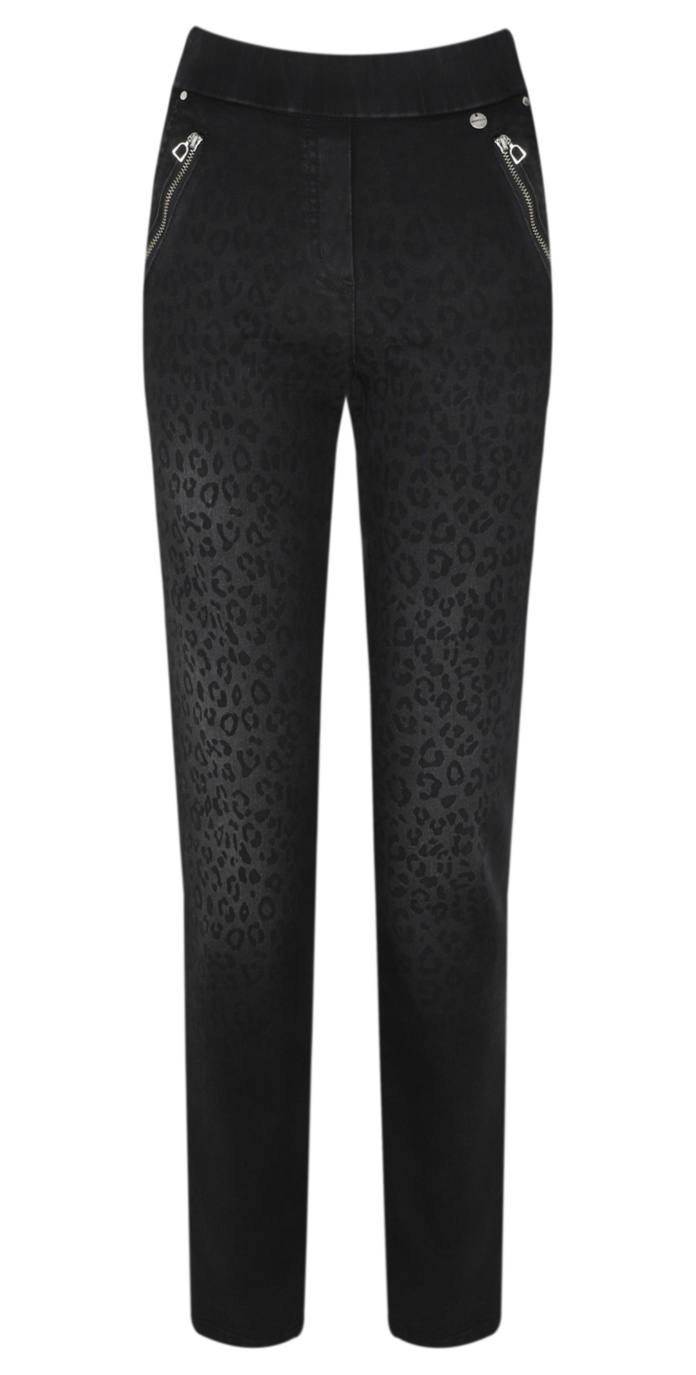 Nena 78cm Animal Print Denim Jeans main image