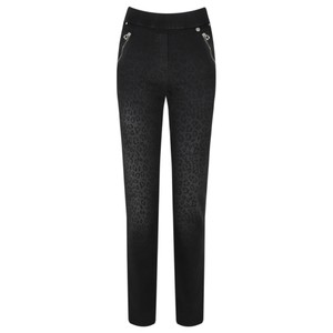 Robell  Nena 78cm Animal Print Denim Jeans