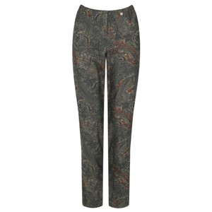 Robell  Bella Paisley Print Trouser