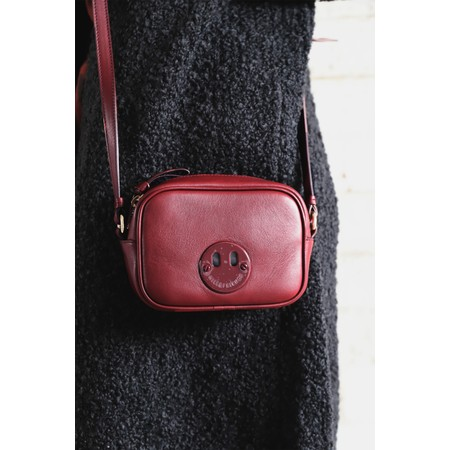 Hill & Friends Happy Mini Camera Bag - Red