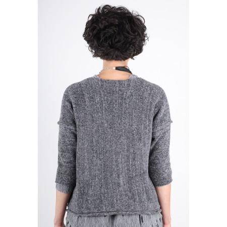 Grizas Tina Knit With 2 Pockets - Grey